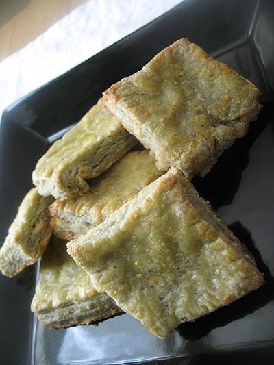 Savory Blue Cheese Crackers