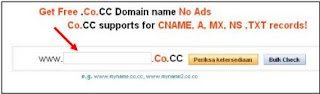 Cek domain co.cc