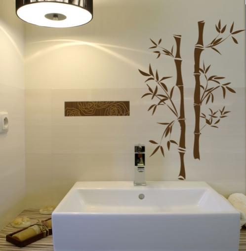 Espacio cero viniles decorativos para muros y ba os for Banos decorativos