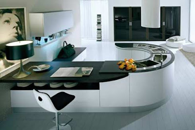 Cool Modern Kitchens on My Dream Home And Office  Round Modern Kitchen Countetops From Pedini