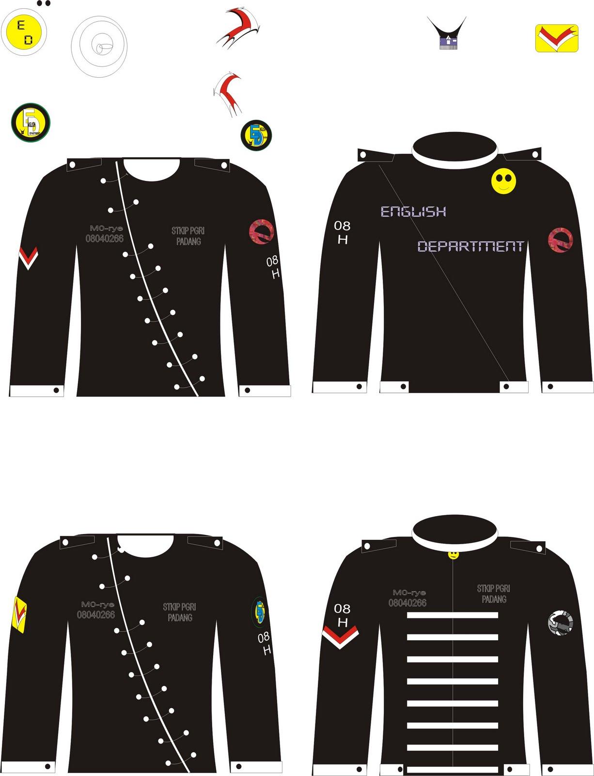 design baju ini dibuat untuk club-club
