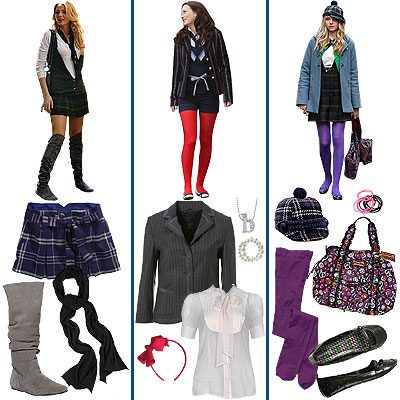 Dress like gossip girl