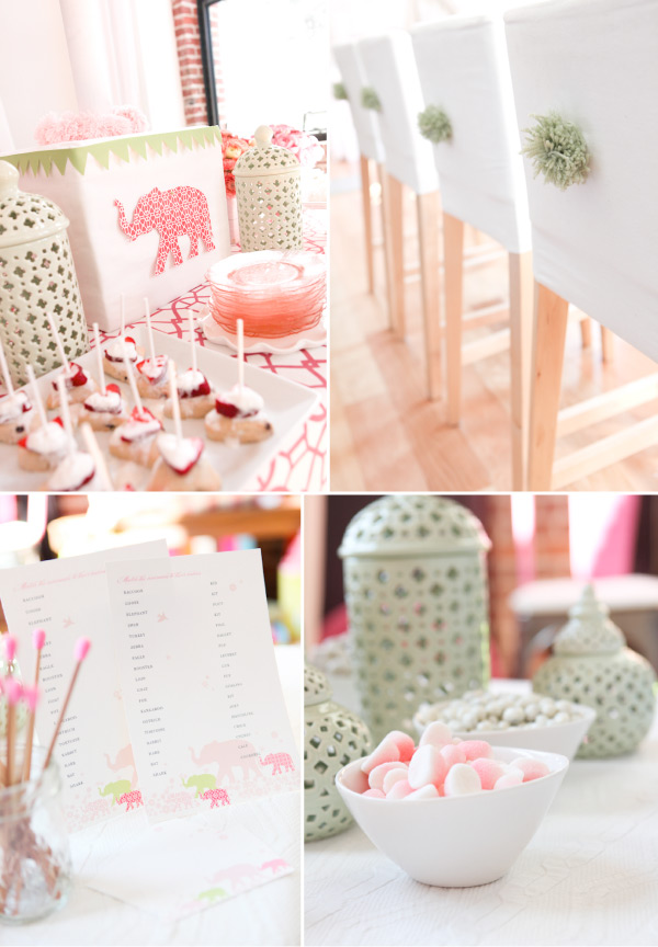 baby shower to swoon over