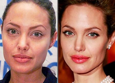 lo que hace el maquillaje en las famosas