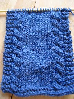 Sittin & Knittin: Cable-Knit Scarf from A Killer Stitch novel (...
