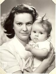 Mamma och jag 1952