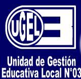 UGEL 03 - BLOG OFICIAL