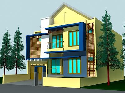 Desain Rumah Minimalis 1 | Minimalist Design | Blog Dillah