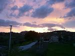 Il tramonto nelle Marche
