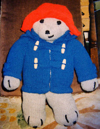 KNITTED PADDINGTON BEAR