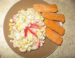 Salata de porumb cu ton