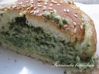 Sandwich copt cu  mangold