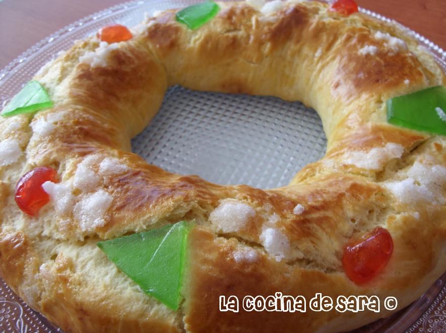 La cocina de sara rosc n de reyes - Cocinas de sara ...