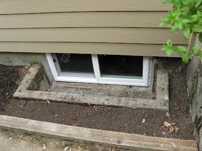 basement window wells via