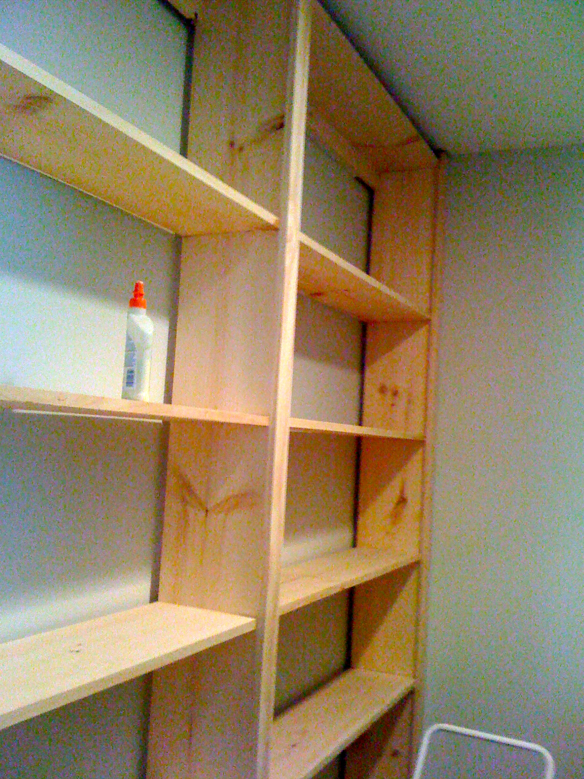 diy built in bookcase - Wall Sized Bookshelves