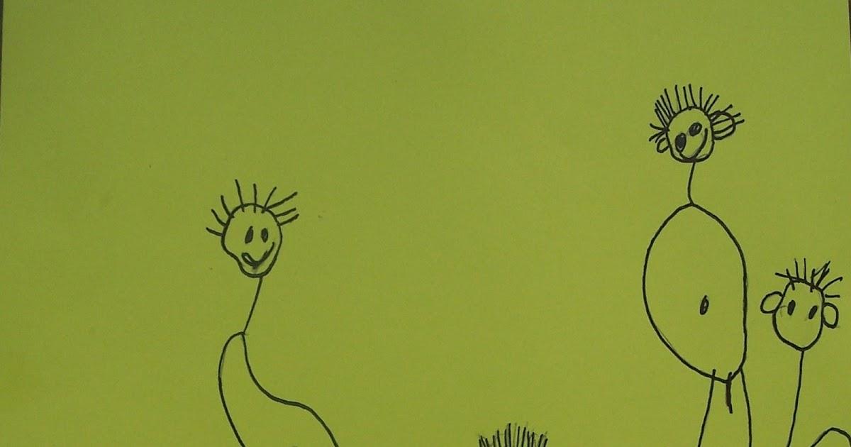Kunstig kindertekeningen op doek - Hang een doek ...