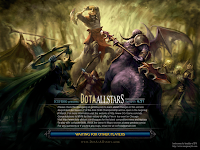 Dota-Allstars 6.54 Beta Loading Screen