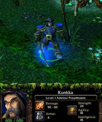 Kunkka Guide Kunkka The Admiral Build Amp Strategy Daelin Proudmoore Warcraft 3 Dota Maps