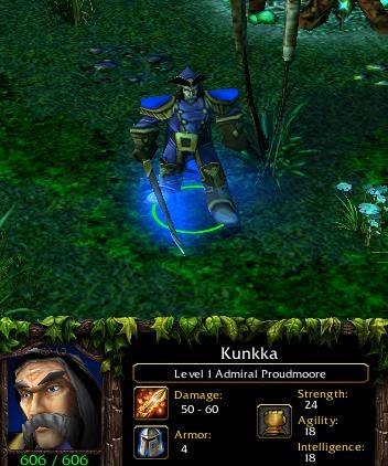 Kunkka Guide Kunkka The Admiral Build Amp Strategy Daelin Proudmoore Warcraft 3 Dota Maps