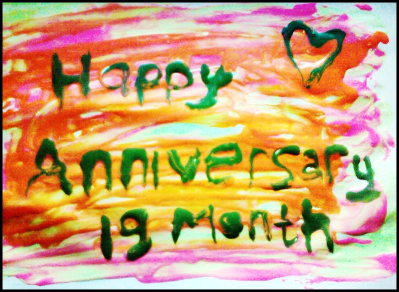 widyooth storyboard: HAPPY 19 MONTH ANNIVERSARY SWEETHEART