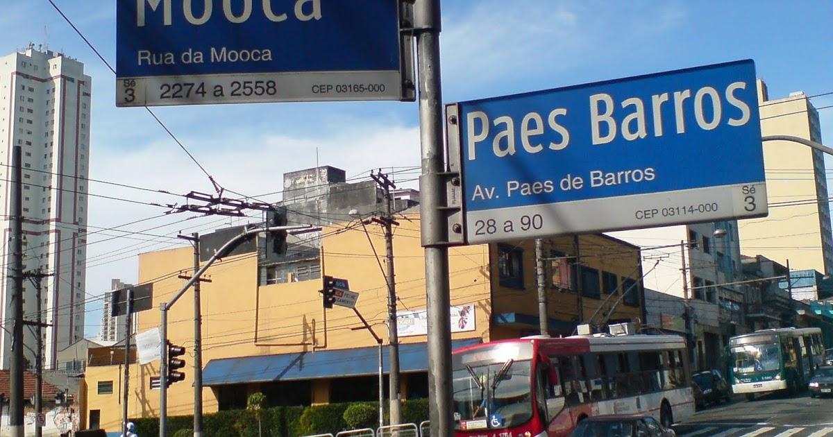 Adesivo De Parede Rolo ~ familia PAES DE BARROS de S u00e3o Paulo, Itu e Sorocaba Avenida Paes de Barros, Mooca, Historia em