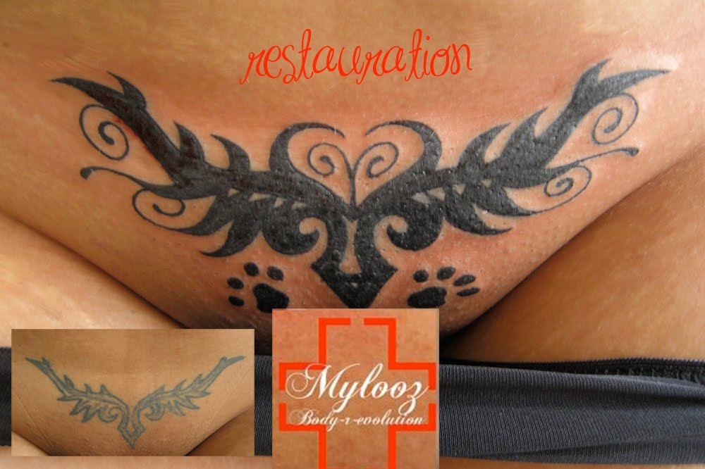 LE COVER OU L'ART DU RECOUVREMENT Facebook - Recouvrement Tatouage Tribal