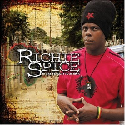 Richie Spice, in the street to africa