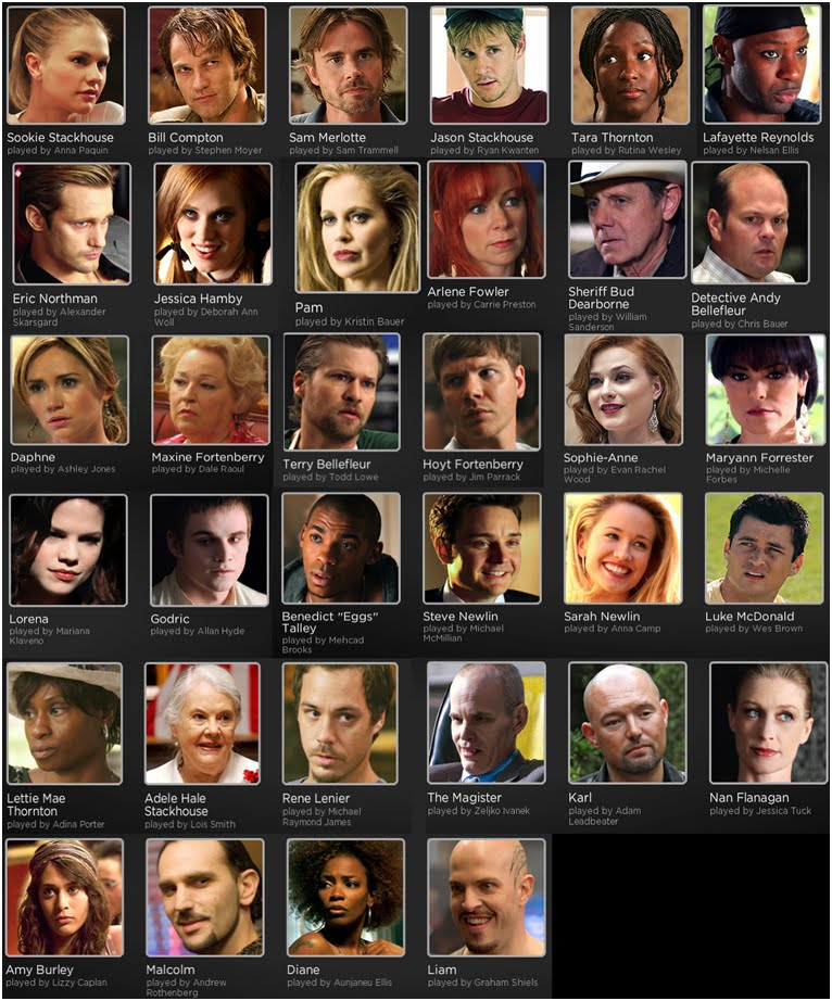true blood season 4 cast. 2011 True Blood Season 4 on