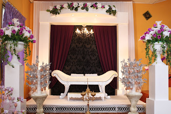 astana pelamin - purple'black