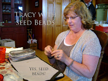 Tracy with Seed Beads!
