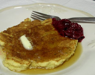 Pancakes for Shrove Tuesday, the day before Ash Wednesday