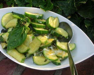 Quick and tasty zucchini