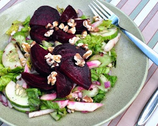 Beet & Walnut Salad