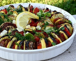 Stacked Ratatouille for a Crowd