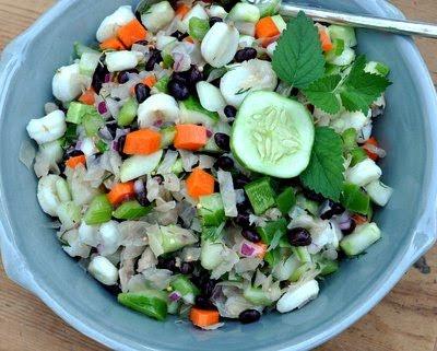 New-Fashioned Sauerkraut Salad