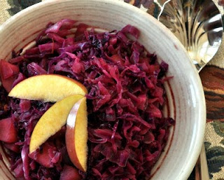 Swedish Red Cabbage & Apples