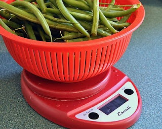 You'll need a pound of fresh green beans