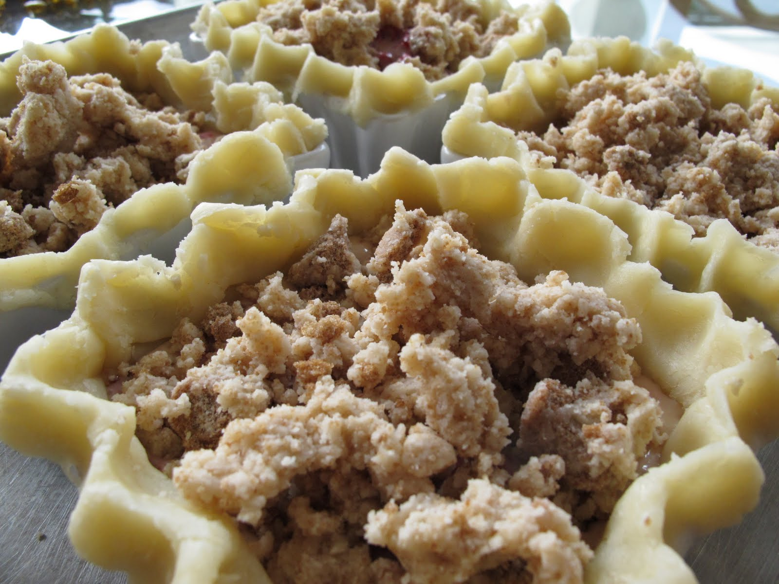 Raspberry Sour Cream Tart Recipe — Dishmaps