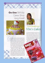 Vin's Cakes on Bakery Indonesia
