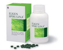 ELKEN SPIRULINA  $50 (250tablets) $80  (500 tablets)