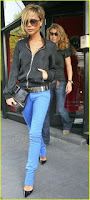 Victoria Beckham colored jeans