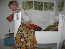 Eksempel på brug af billeder på børneværelset