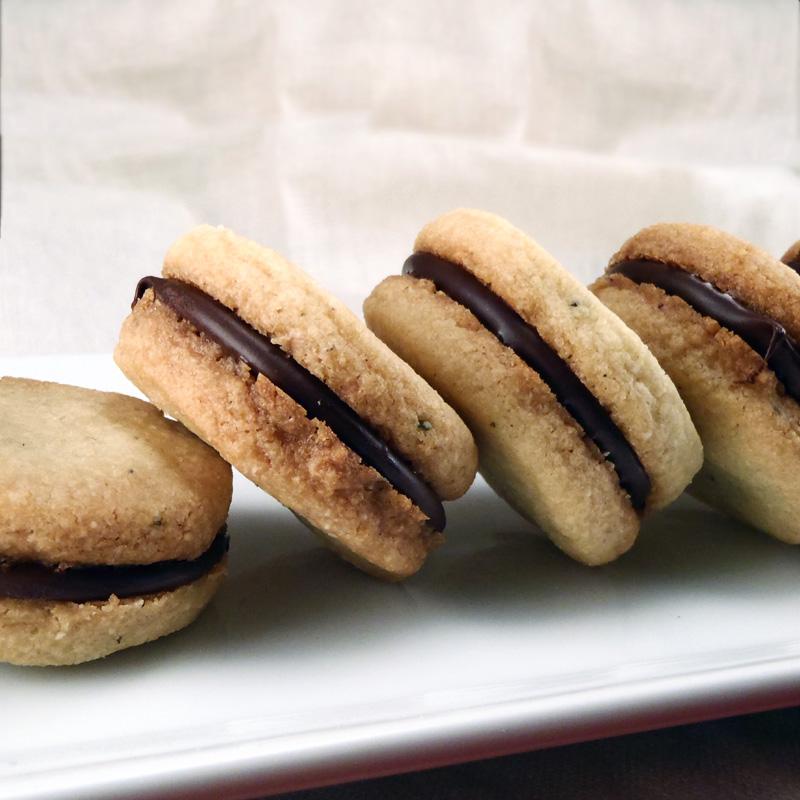 Chocolate Raspberry Baci Di Dama Recipes — Dishmaps