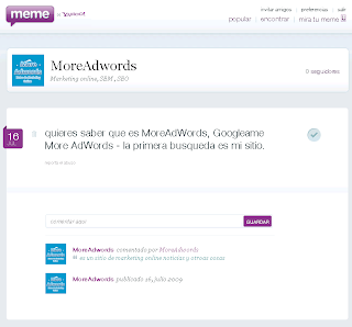 meme yahoo Comentarios more adwords
