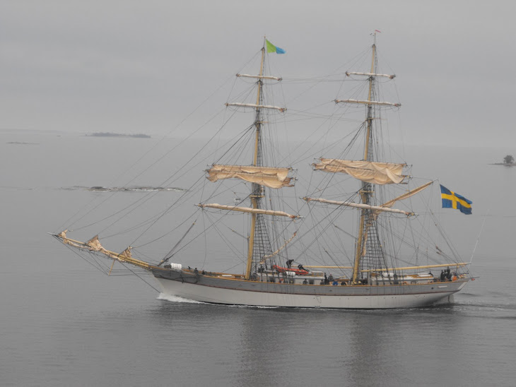 A tall ship in the Baltic