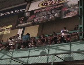 En las alturas de la Arena Puebla