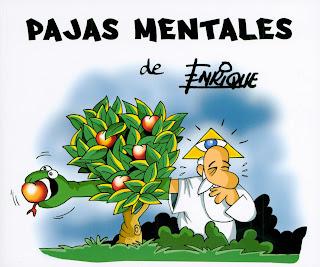 ... venta el nuevo libro de chistes de Enrique , titulado PAJAS MENTALES