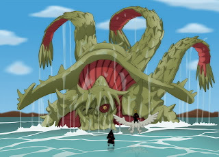 Isonade no Sanbi ( 3 colas ) Tobi_and_Deidara_vs_Sanbi_by_shadso