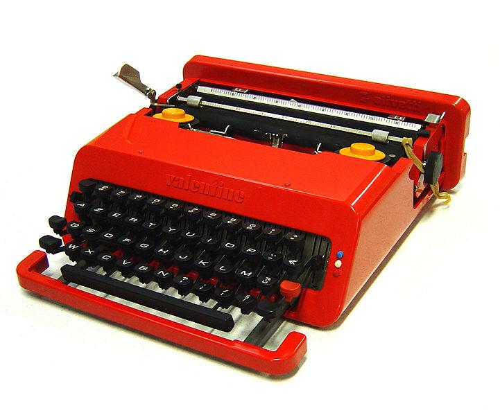 Typwriter, (Valentine)