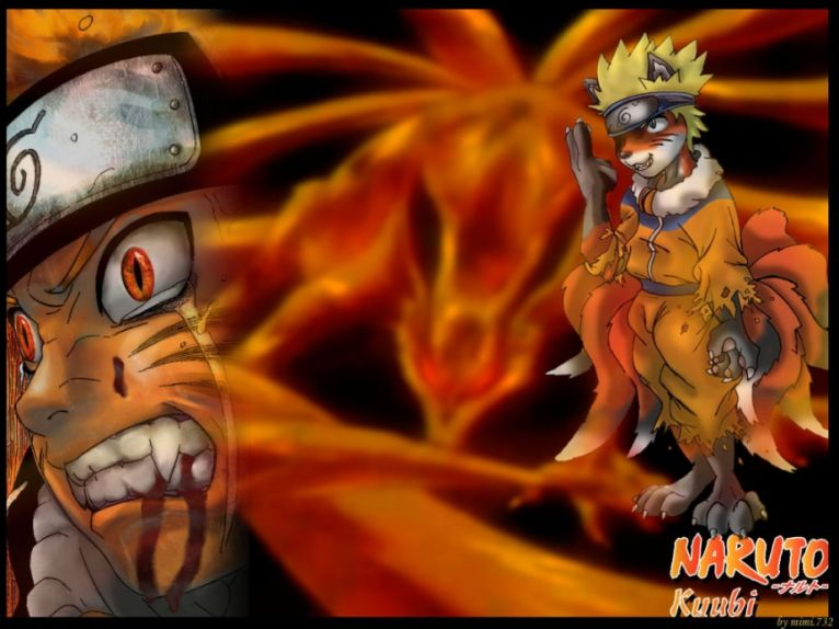 Telecharger wallpapers backgrounds wallpapers manga - Naruto renard ...